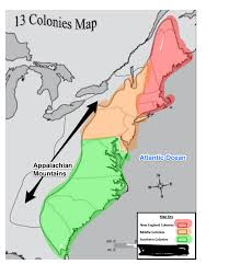 13 Colony Map 13 Colonies Review Mrs Preuninger U0027s Class