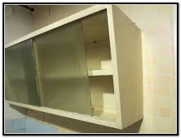 sliding glass cabinet door track saudireiki