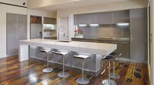 bar stunning white kitchen design with pendant lamps and wooden