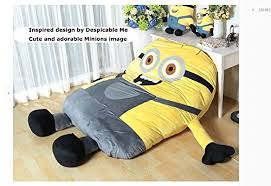 funny despicable me minions sleeping bag sofa bed twin bed double