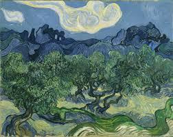 olive trees van gogh series wikipedia