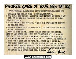 new tattoo care 10