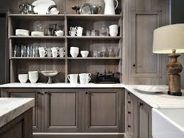 brown open kitchen cabinets design 5851 home decorating designs