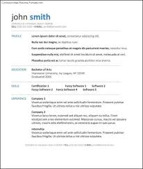 Ut Resume Resume Template Ms Word 28 Images 85 Free Resume Templates