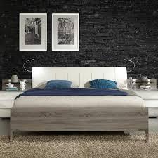 Schlafzimmer Eiche Braun Schlafzimmer Bett Ariean In Eiche Trüffel Pharao24 De