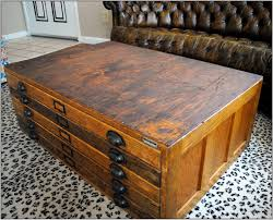 Wood Flat File Cabinet Wood Flat File Coffee Table Home Decorating Idea Thippo