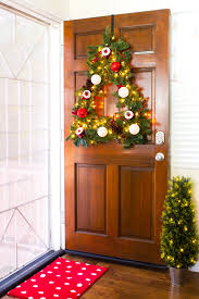 diy tree shaped wreath front doors wreaths and christmas tree