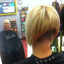 layered buzzed bob hair a line with buzzed nape not pinterest