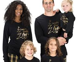 family pajamas etsy