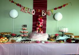 table decorations for baby shower furniture inspiration