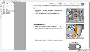 audi a6 2012 2015 service repair manual pdf auto repair manual