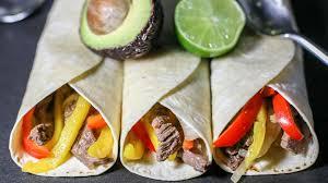 steak or chicken fajitas recipe genius kitchen