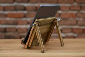 shabi shic wooden ipad stand wood tablet station ipad holder
