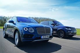 bentley jeep black bentley bentayga vs range rover auto express
