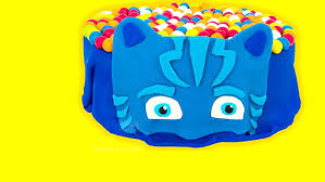 amazon pj masks play doh surprise cake opening catboy