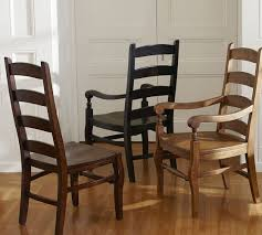 Dining Chairs Wood Ladderback Dining Chair Pottery Barn