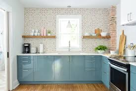 ikea blue kitchen cabinets how much did the duplex kitchens cost house