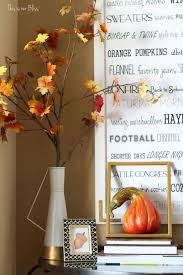 Fall Decor Diy - inexpensive fall wall decor the crazy craft lady