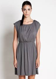 nursing wear noir nursing dress in grey by dote nursingwear