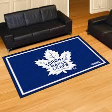 Toronto Area Rugs Maple Leafs Area Rug 5 X 8