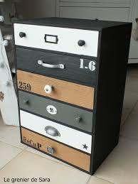 transformer un meuble ancien meuble tiroirs termin 8 relooker un meuble pinterest