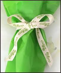 custom ribbon printing offray custom ribbon packaging