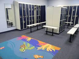 Locker Room Furniture Locker Rooms Club Amenities Monroe Aquatics And Fitness Center