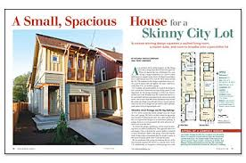 fine homebuilding login a small spacious house for a skinny city lot fine homebuilding