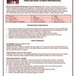 Fitness Resume Sample by Fitness And Personal Trainer Resume Sample Summary Highlights