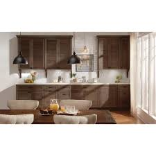 home depot refacing kitchen cabinet doors the home depot installed cabinet makeover rustic doors