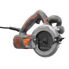 Ryobi 5 Portable Flooring Saw by Ridgid 5 In 2 Blade Circular Saw R3250 The Home Depot