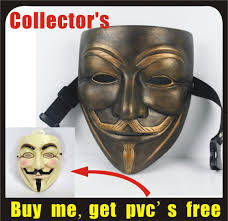 resin deluxe guy fawkes v for vendetta anonymous collector u0027s mask