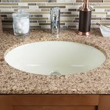 undermount bathroom sink bowl hahn ceramic oval undermount bathroom sink with overflow reviews