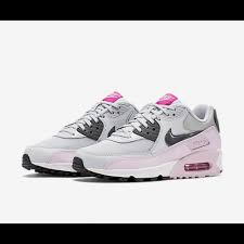 light pink nike air max nike air max 90 essential womens light pink grey trainers sale uk