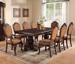 poundex f2182 formal cherry dining table set ocfurniture com