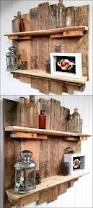 How To Make A Wood Shelving Unit by Cheap Home Furnishing With Recycled Pallets Wood Pallet