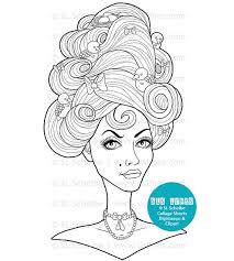 hairstyle books for women coloriage coloriage fille pinterest coloring books adult