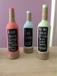 diy wine bottle decorations