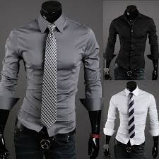 2016 fancy new design slim fit french cuff dress shirt for men