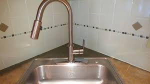 Kitchen Sink Faucets Reviews by Aquafaucet Pull Down Brushed Nickel Kitchen Sink Faucet Review And