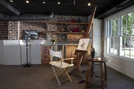 Basement Chair Rail - industrial design ideas for home basement eclectic with bead board