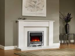 White Electric Fireplace With Bookcase by Stacked Stones Fireplace Ideas Be Equipped With Classic Stone