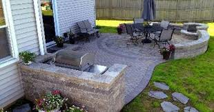 Backyard Patio Designs Decor Of Paver Patio Design Patio Remodel Pictures 1000 Ideas