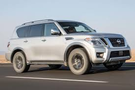 2017 nissan armada platinum first test review motor trend