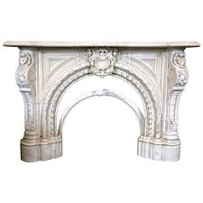 victorian marble fireplace mantel for sale at 1stdibs