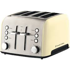 Delonghi Kettle And Toaster Cream Russell Hobbs The Good Guys