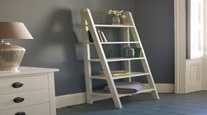 Leaning Ladder 5 Shelf Bookcase 43 Lowe U0027s Leaning Ladder Shelves Country Bookshelf Oak Ladder