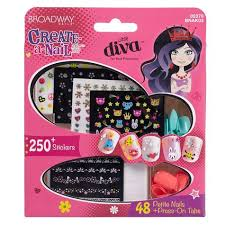 kiss broadway nails create a nail art kit shopko
