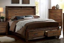 King Size Platform Bed With Storage King Storage Bed Ebay