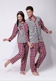 matching couples pajamas sweater footed pajamas
